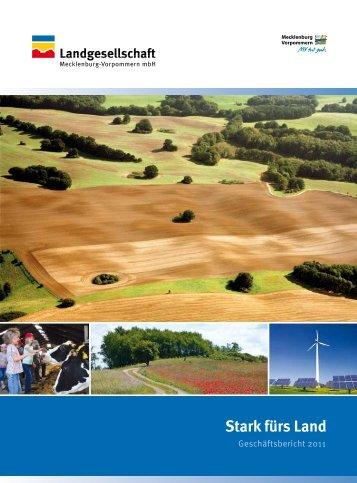 MOORScHUTz/kOMpEnSATiOn - Landgesellschaft Mecklenburg ...