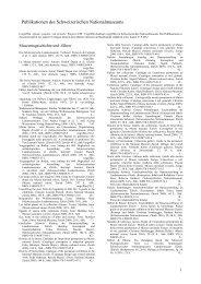 Publikationen-Liste