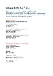 ARZT und FINANZEN - Partner-Treuhand Wirtschaftstreuhand GmbH