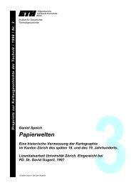 Papierwelten - ETH Technikgeschichte - ETH Zürich