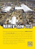 MAWEV-Show 2012 Folder deutsch - Seite 2