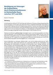Gustav A.Starzmann: Bestätigung von Setzungen der ... - DVW Bayern