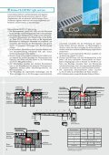 Preisliste für Stahlrinnen und FILCOTEN 2012 als PDF - Seite 6