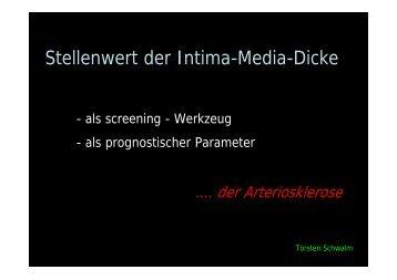 Zunahme der IMD - von Torsten Schwalm