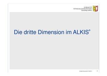 Die dritte Dimension im ALKIS - DVW