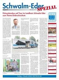 Präventionsbus auf Tour im Landkreis Schwalm-Eder zum Thema ...