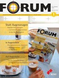 Statt Augenzeugen - Forum