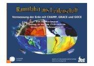 Vermessung der Erde mit CHAMP, GRACE und GOCE - Institut für ...