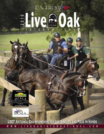 2010 Live Oak Program NEW - Club Equestrian
