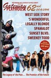 Season Brochure - Gateway Playhouse