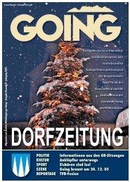 Dorfzeitung Dezember 2005 - Going am wilden Kaiser - Land Tirol