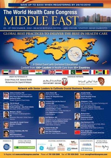 The World Health Care Congress - Nivel