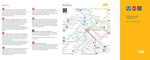 Änderungen zum Fahrplan 2012 - SSB