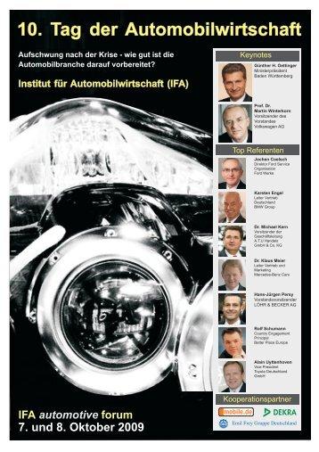 Institut für Automobilwirtschaft