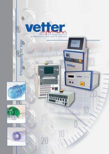 Download Produktübersicht (PDF) - Vetter AG