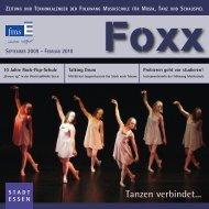 Foxx - Folkwang Musikschule - Essen