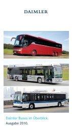 Daimler Buses im Überblick. Ausgabe 2010. - Evobus GmbH