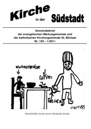 März - Seelsorgeeinheit Philipp Neri, Heidelberg