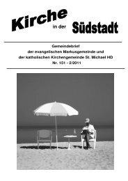 Juli - Seelsorgeeinheit Philipp Neri, Heidelberg