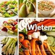 W eekmenu's - Weten & Eten