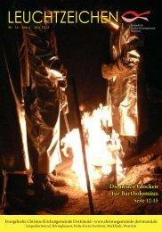 Leuchtzeichen Nr 14. vom März 2012 - Evangelische Christus ...