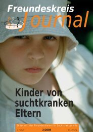 Ausgabe 2-2005 - Freundeskreise für Suchtkrankenhilfe