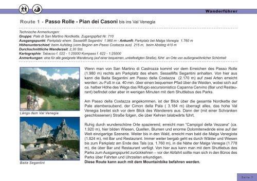 Inhaltsverzeichnis - Hotel Castel Pietra