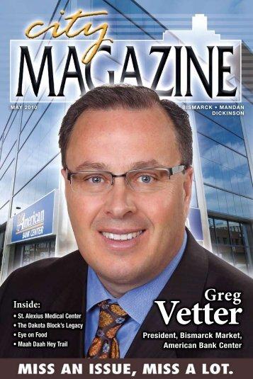 Banker Greg Vetter - City Magazine