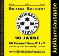 offene Kamine, …Kachelöfen, …Kaminöfen - DJK Rheinkraft Neuss