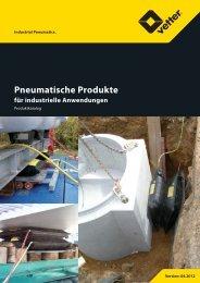 Industriekissen 8 bar - Vetter GmbH