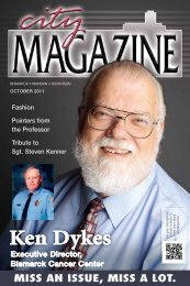 Ken Dykes - City Magazine