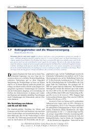 1.7 Gebirgsgletscher und die Wasserversorgung - Kommission für ...