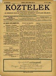 Köztelek Zsebnaptár - Országos Mezőgazdasági Könyvtár