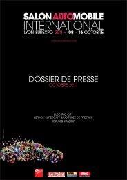 DOSSIER DE PRESSE - Salon automobile Lyon