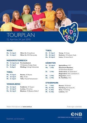 Aktueller Tourplan - GPK