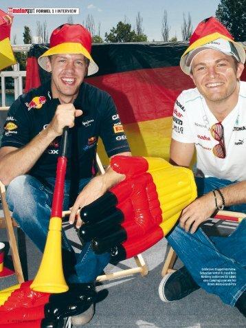 Wir wollen beide den Heimsieg - Sebastian Vettel