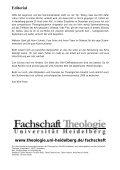 S - Theologische Fakultät - Universität Heidelberg - Seite 4