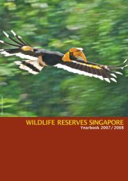 FY 07/08 - Wildlife Reserves Singapore