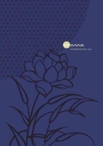 Geschäftsbericht 2007 Gruppe - VP Bank