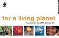 Jahresbericht des WWF Schweiz 2004