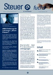 """AMS-Förderung für Lehrlinge (""""Blum- Prämie"""") Vorsicht ... - Pirklbauer"""