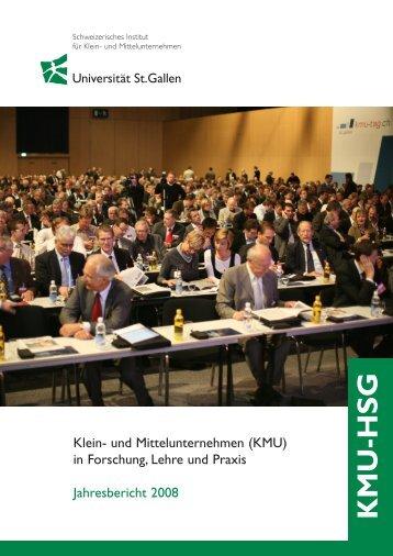 Jahresbericht 2008 - Alexandria - Universität St.Gallen