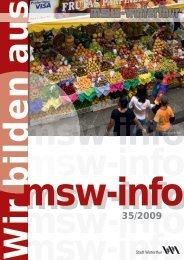 Ihr Partner für innovative Komponenten und ... - msw-winterthur