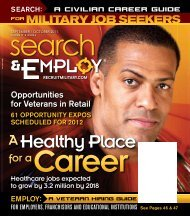 for a Career - RecruitMilitary