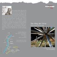 Der Weg der Sinne - Silberregion Karwendel