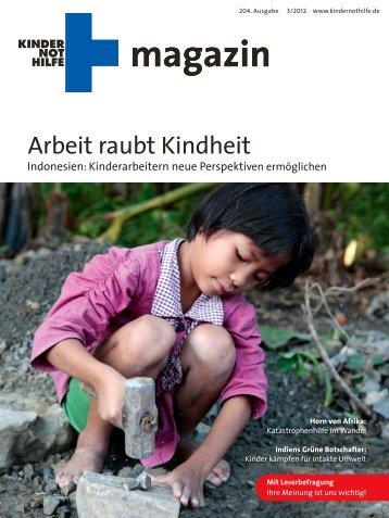 Kindernothilfemagazin 3/2012
