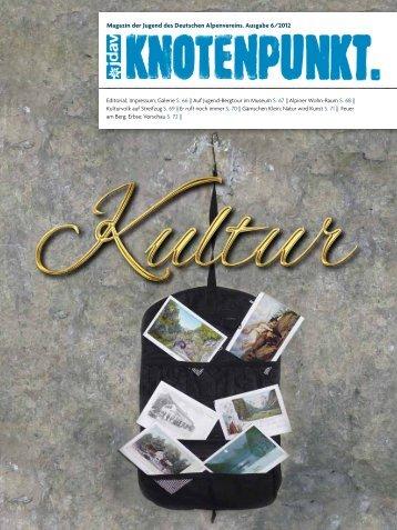 Magazin der Jugend des Deutschen Alpenvereins. Ausgabe 6/2012
