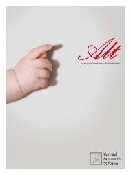 AltEin Magazin zum demografischen Wandel - Journalisten Akademie