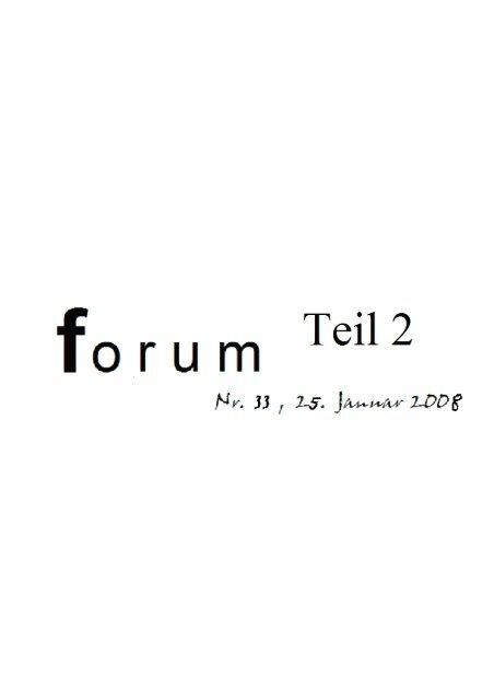 Forum Nr. 33.2 - Gymnasium Altenholz