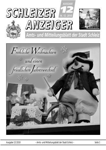 amtsblatt 2011 - Schleiz